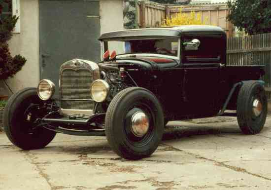 galerie ford hot rod pickup 1930 besch digt. Black Bedroom Furniture Sets. Home Design Ideas